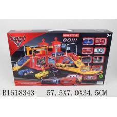 Игровой паркинг с машинками Тачки 3, арт.660-A110