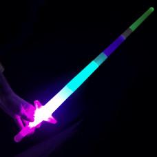 Светящийся складной меч, 65 см