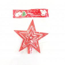 Пластиковый наконечник на елку Красная Звезда