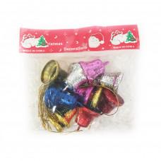 Набор колокольчиков для елки Christmas Decoration 3 см, 12 шт