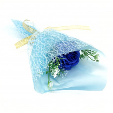 Букет из парфюмированного мыла в бумажной упаковке, 40 см