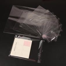 Полипропиленовый пакет ПП со скотч клапаном, 200 шт