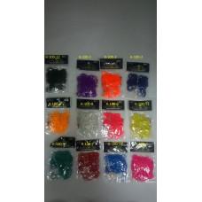 Набор из РЕЗИНОК Rubber Band одноцветные ароматизированные (200 шт.), арт. К-100