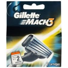 Мужские кассеты Gillette Mach3 (Реплика)
