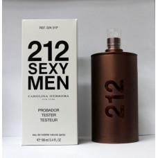 Мужская туалетная вода ТЕСТЕР CAROLINA HERRERA 212 SEXY MEN 100ML. Арт.02к01р