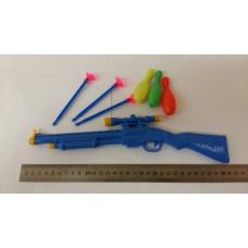 Детское ружье с присосками