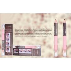 Двусторонний карандаш для бровей A PUSH-UP BRA FOR YOUR EYEBROW, 3.2g
