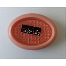 Овальная мыльница со сборником влаги Color Life
