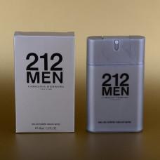 Мужской мини-парфюм Carolina Herrera 212 Men 45 мл