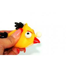 Брелок-антистресс Angry Birds желтая птица
