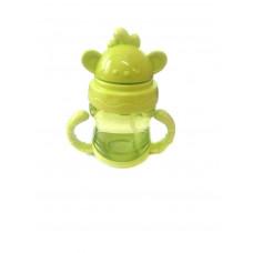 Детская бутылочка-поильник с трубочкой, 200 мл