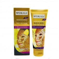 Золотая маска для лица Wokali Gold Caviar 130 ml
